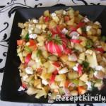 Színes zőldséges saláta 2