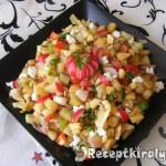 Színes zőldséges saláta 3