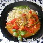Zöldséges tarja rizzsel 2
