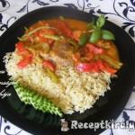 Zöldséges tarja rizzsel 3
