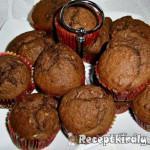 Banános kókuszos kakaós muffin 1
