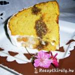 Süt-tökös kuglóf tejszínes kókuszkrémmel 3