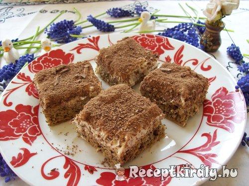 Snickers sütemény Györgyi módra