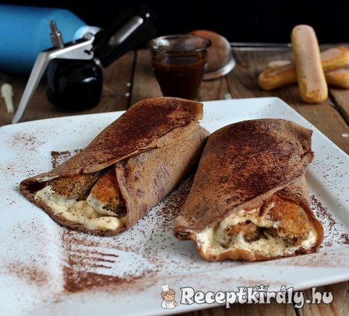 Tiramisu palacsinta Gizi konyhájából