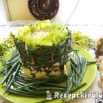 Ehető salátás tál 2