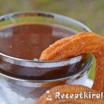 Churros csokis mártogatóssal 1