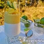 Paleo - Kókuszos panna cotta és mango-lime curd 1