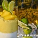 Paleo - Kókuszos panna cotta és mango-lime curd 2