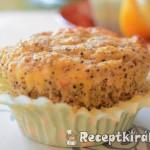 Paleo citromos mákos muffin-1