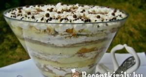 Bailey's – stracciatella trifle