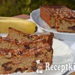 Csokis banánkenyér - paleo 1
