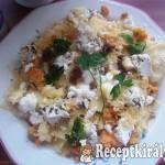 Csusza háromféle sajttal 2