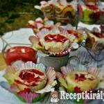 Eperörvényes cupcake