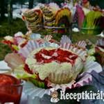 Eperörvényes cupcake 2