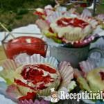 Eperörvényes cupcake 3