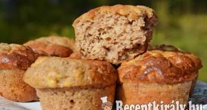 Gesztenyés almás muffin – paleo