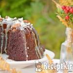 Írós csokis kuglóf csokimázzal 2