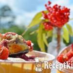 Krémes málnás mini pite - paleo 3