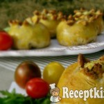 Krumplis szalonnás bimbók 2