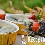 Mákos mini pite szilvával, vörös áfonyával - Paleo 2