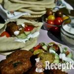 Marokkói fűszeres falafel