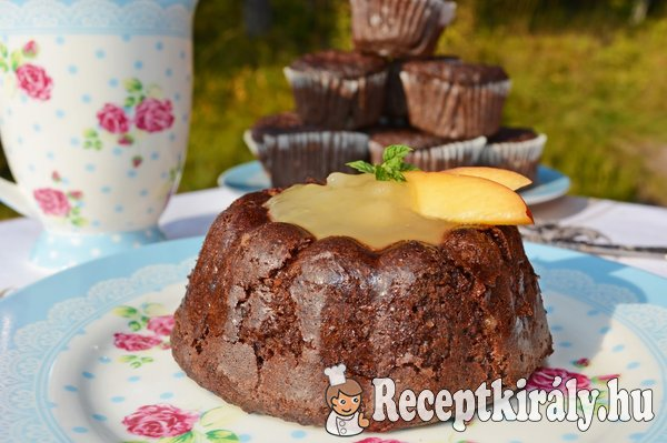 Paleo kakaós cukkinis muffin