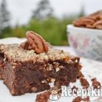 Pekándiós paleo brownie 2
