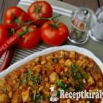 Spanyol csirketál vajbabbal 1