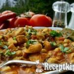 Spanyol csirketál vajbabbal 3