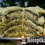 Szabolcsi almás máktorta - paleo 2