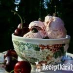 Tejfölös kardamomos cseresznye fagylalt 1