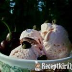 Tejfölös kardamomos cseresznye fagylalt 2