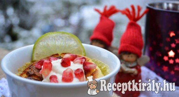 Citromos soufflé pudding -paleo