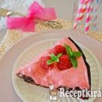 Csokis mogyorótorta málnakrémmel - paleo 2