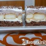 Csokis-vaníliás krémes szelet 1
