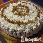 Gesztenyés-diós torta 3