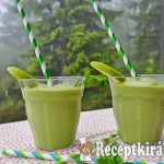 Green power detox smoothie - paleo 3