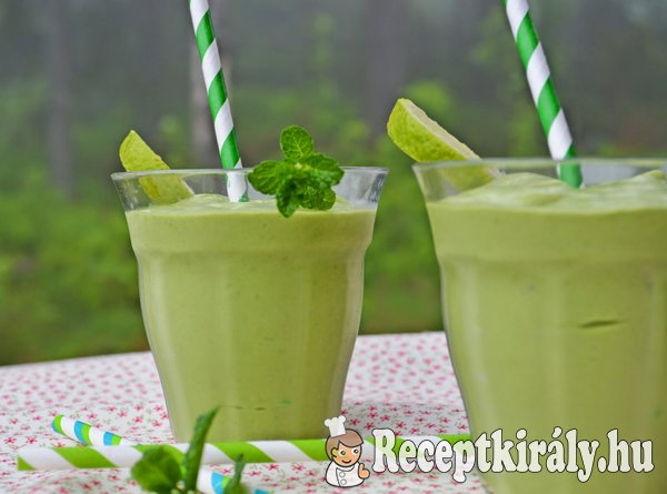 Green power detox smoothie - paleo