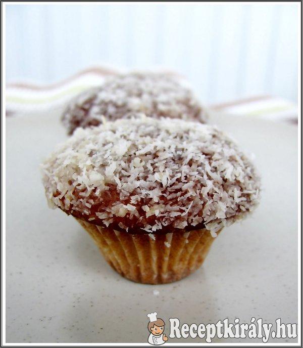 Kókuszos mini muffin