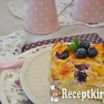 Lusta asszony rétese áfonyával és mangóval- paleo 3