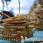 Mákos kókuszos kréker - paleo 2