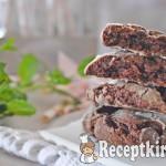 Mentás csokis keksz 2