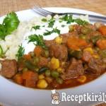 Mexikói zöldséges sertésragu 2