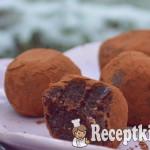 Nyers brownie falatok - paleo 1