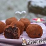 Nyers brownie falatok - paleo