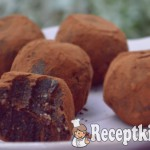 Nyers brownie falatok - paleo 2