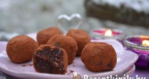 Nyers brownie falatok – paleo