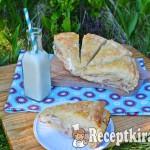 Réteges tejfölös sonkás pogácsa 3