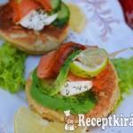 Sós mini palacsinta, reggelire vagy előételnek - paleo 2