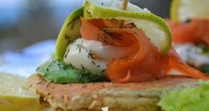 Sós mini palacsinta, reggelire vagy előételnek – paleo